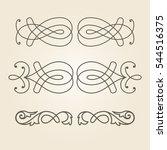 decor element | Shutterstock .eps vector #544516375
