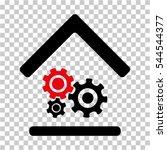 workshop icon. vector... | Shutterstock .eps vector #544544377