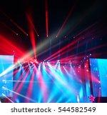 defocused entertainment concert ... | Shutterstock . vector #544582549