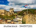 Castle Of Larochette  Luxembourg