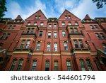 Stock photo matthews hall at harvard university in cambridge massachusetts 544601794