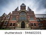 the harvard memorial hall  at... | Shutterstock . vector #544602331