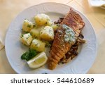 Filet Of Pike Perch With...