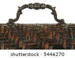 close up top   handle of ornate ... | Shutterstock . vector #5446270