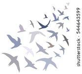 Vector Illustration Flying...