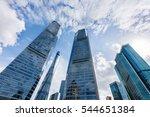 the skyscraper external...   Shutterstock . vector #544651384