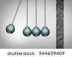 momentum concept as a group of... | Shutterstock . vector #544659409