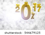 sale 0  concept in gild text... | Shutterstock . vector #544679125