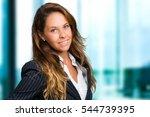 beautiful young woman portrait   Shutterstock . vector #544739395