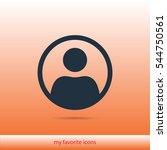 user vector icon | Shutterstock .eps vector #544750561