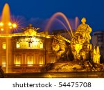 The Fountain Of Cibeles  Madrid