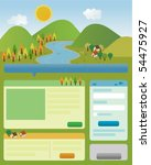 web interface design with...