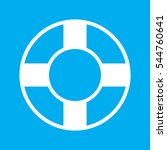 lifebuoy  icon  vector... | Shutterstock .eps vector #544760641