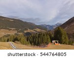 Small photo of View in alp mountains