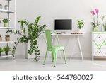 shot of a minimalist  bright... | Shutterstock . vector #544780027