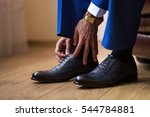 businessman clothes shoes ... | Shutterstock . vector #544784881