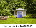 Image Of Gazebo House In A Lus...