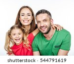 Portrait Of Parents With Littl...