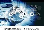 global business illustration. | Shutterstock . vector #544799641