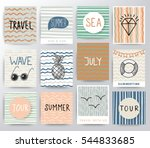travel illustration set | Shutterstock .eps vector #544833685