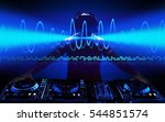 party dj. | Shutterstock . vector #544851574