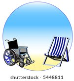 handicap and relationship | Shutterstock . vector #5448811