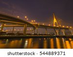 """bhumiphol"" highway bridge... 