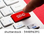 send word concept button on... | Shutterstock . vector #544896391