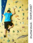 Free Climber Child Young Boy...