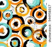 seamless background pattern ...   Shutterstock .eps vector #544958317