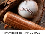 a top view image of old used...   Shutterstock . vector #544964929