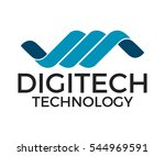 technology  vector logo ...   Shutterstock .eps vector #544969591