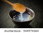 popular hot sweet drink of... | Shutterstock . vector #544974364