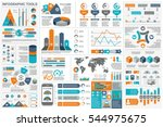 infographic elements data... | Shutterstock .eps vector #544975675