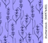 vector seamless pattern with... | Shutterstock .eps vector #544976401