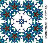 seamless pattern in ethnic... | Shutterstock .eps vector #544994527