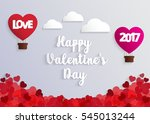 concept of valentine day  hot... | Shutterstock .eps vector #545013244