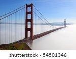 Golden Gate Bridge Is Shown In...