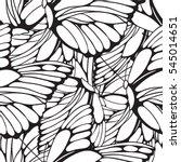vector seamless artistic hand...   Shutterstock .eps vector #545014651