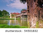 beautiful palace in thailand   Shutterstock . vector #54501832