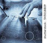 mathematics formulas  high... | Shutterstock . vector #545018809