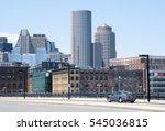 The Car Travels Toward Boston...