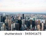 usa  new york  manhattan   june ... | Shutterstock . vector #545041675