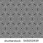 black and white color. abstract ... | Shutterstock . vector #545053939