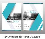 cover design template for... | Shutterstock .eps vector #545063395