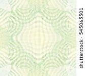 guilloche pattern rosette for... | Shutterstock .eps vector #545065501