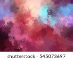 brushed painted abstract... | Shutterstock . vector #545073697