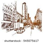 New York 5th Ave Sketch