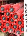 spare parts conveyor belts... | Shutterstock . vector #545080387