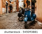 rome  italy   july 8  2014  two ... | Shutterstock . vector #545093881